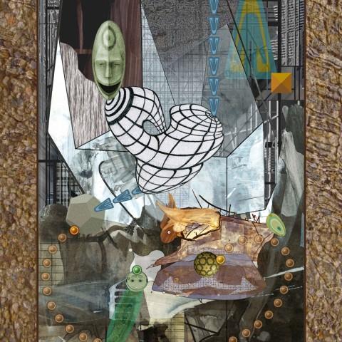 David Wetzl - <b>Evolving Beyond Mod Ego</b>, 2011/2012, digital print on paper, 24 x 18 inches