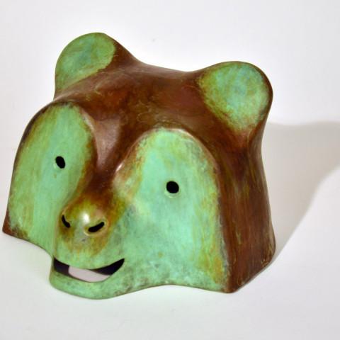 Ken Little - <b>Bear</b>, 1987, bronze, 12 x 13 x 15, edition of 10