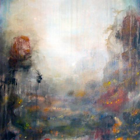 Where, 2014, oil on canvas, 40 x 30