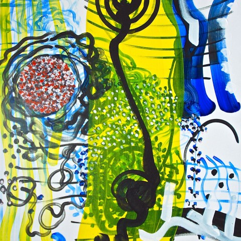 PeterWayneLewis-BUDDHA-PLAYS-MONK#7-2014-H42__x36__ac-linen_0049_sm
